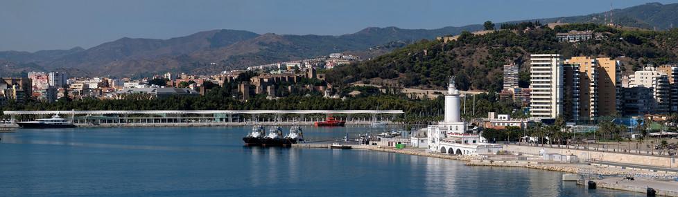 Hafen von Malaga