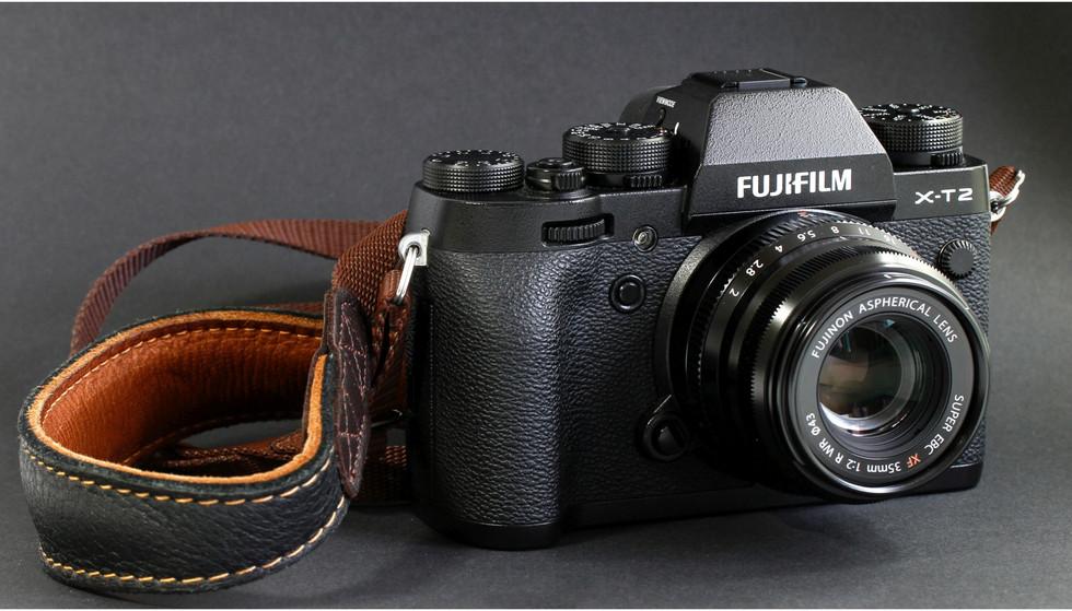 Fujifilm X-T2 und Fujinon XF 35 f/2 R WR