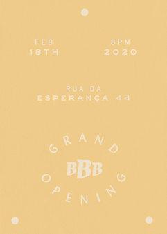 BBB Basile Jeandin BJ   Fine Graphic Design Brand Identity Branding Sign Painting