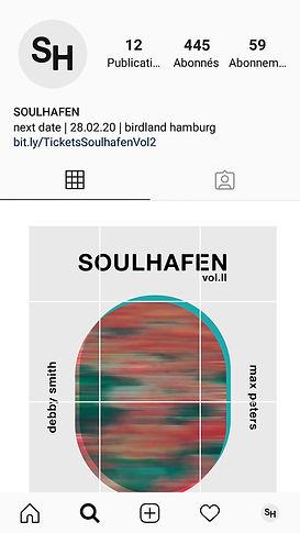 Basile Jeandin Soulhafen concert series identity design communication design