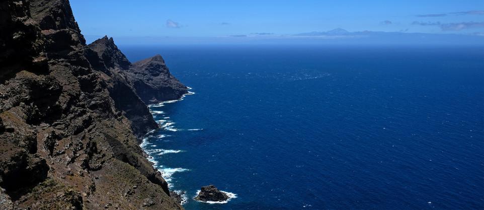 Westküste mit Blick nach Teneriffa