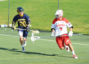 Game On — Local athlete keeps the competitive edge at every level he plays lacrosse