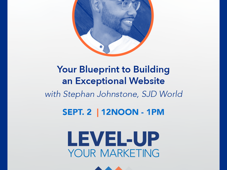 Join us for Building an Exceptional Website - a free webinar with Stephan Johnstone