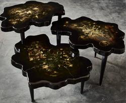 table noir et or 1