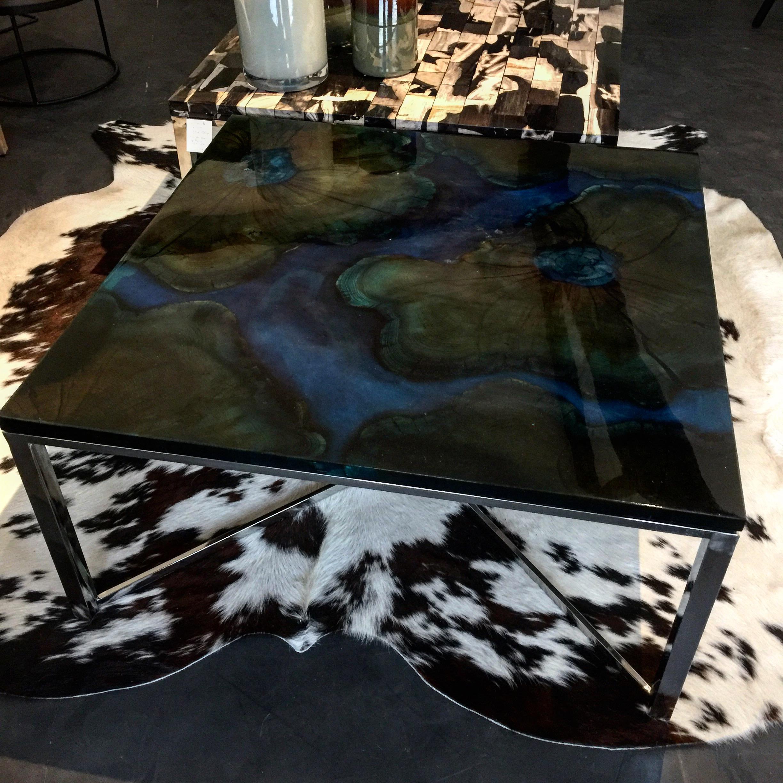 table salon méandres