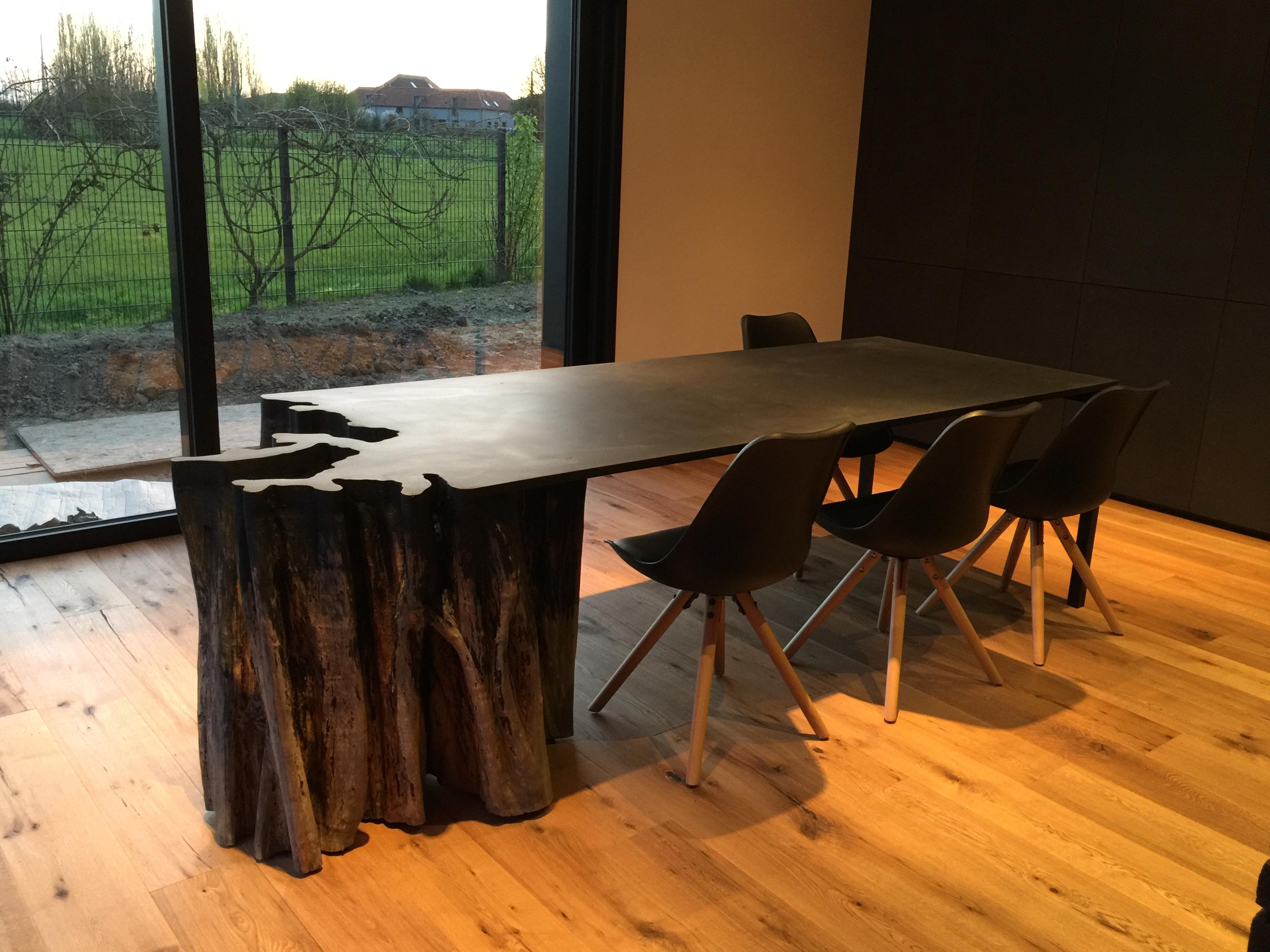 table fondu de cathedrale