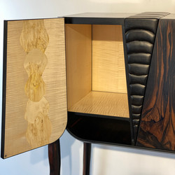 cabinet ecaille detail int