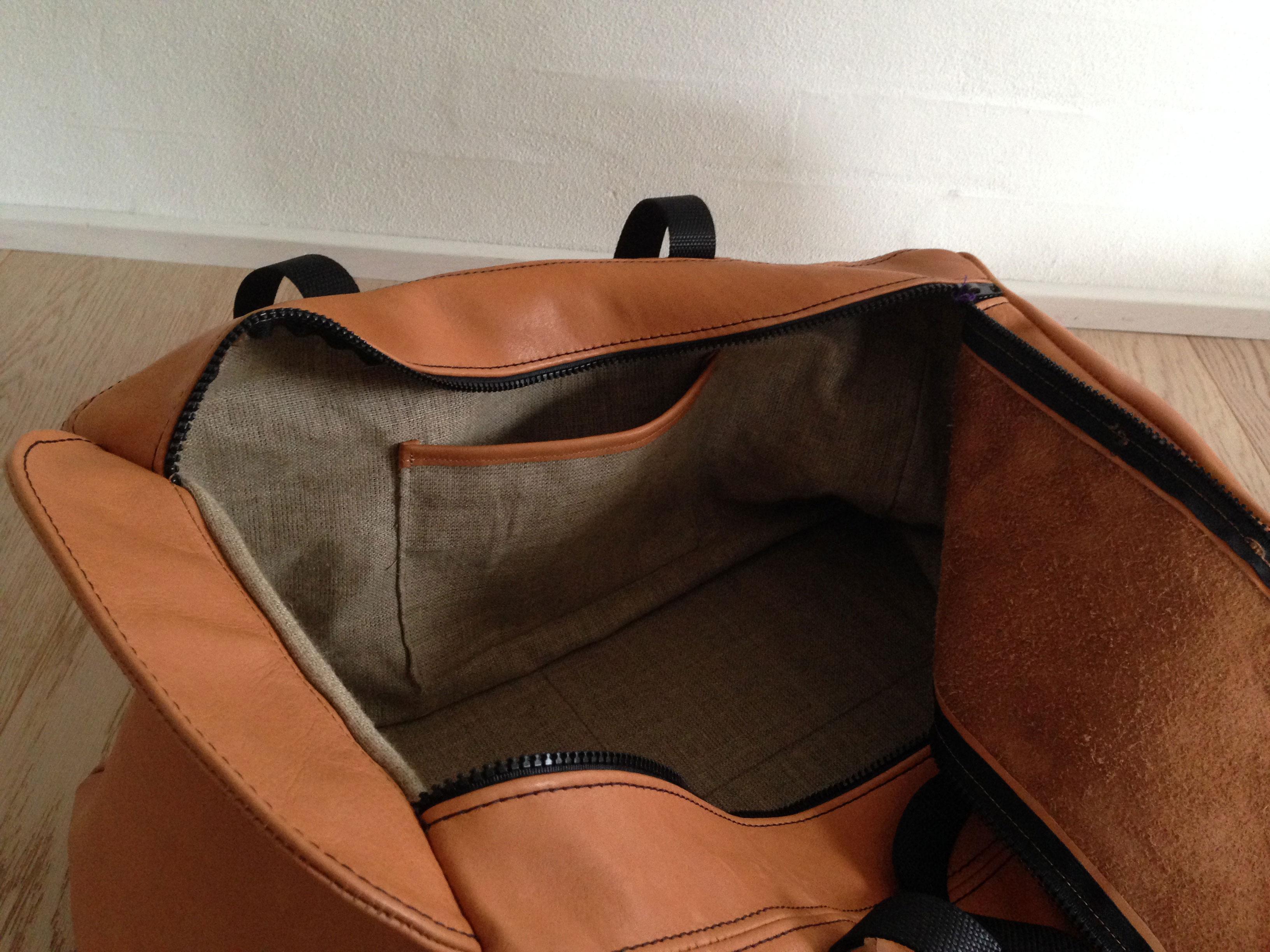 Læder taske