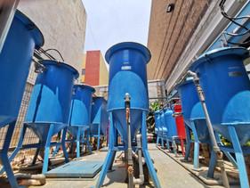 Planta de tratamiento instalada en Superama Taxqueña, CDMX