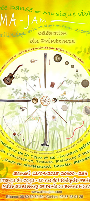 Flyer Alma Jam Printemps