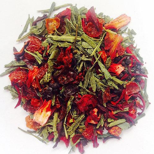 Ruby Empress (Sencha Green Tea & Berries)