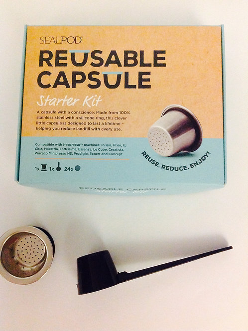 SealPod Reusable Capsules