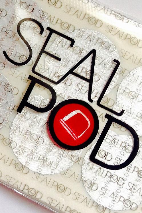 Seal Pod Espresso Sticker Lids