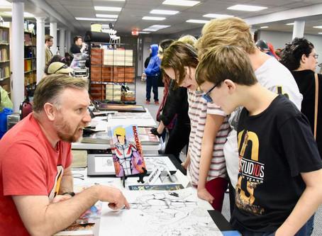 Fun at Boyertown Community Library Comic Con
