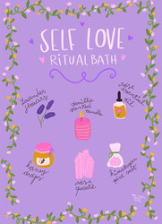 Self Love Ritual Bath, Sara Ottavia Carolei