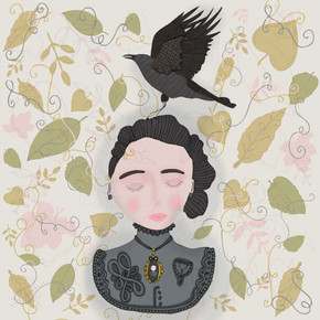 A Witch And Her Crow, Sara Ottavia Carolei
