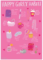 Happy Girly Habits, Sara Ottavia Carolei