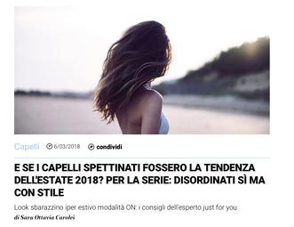 Gioia! (Hearst) Sara Ottavia Carolei