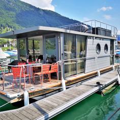 Hausboot von aussen