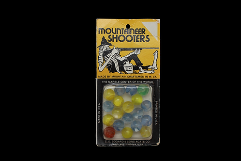 Mountaineer Shooters Marbles