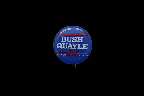 Bush / Quayle 88 Buttons