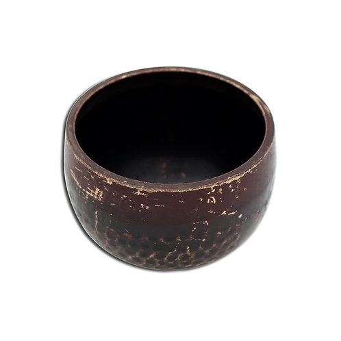 Hammered Brass Singing Bowl from India