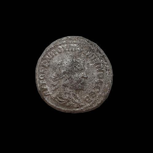 Ancient Roman Silver Coin - 244/249 AD - PHILIP I