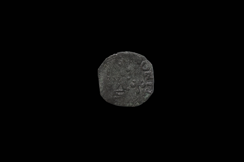 Medieval French Silver Alloy Liard 1560-1580