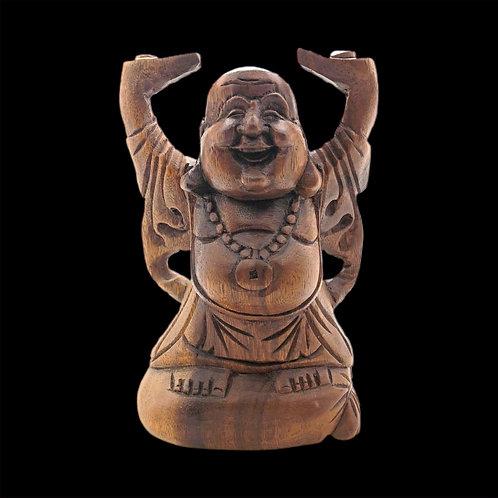 Wood Buddha Statue