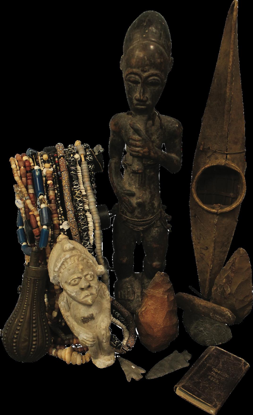 Ethnographic Prehistoric handaxe native american arrowhead