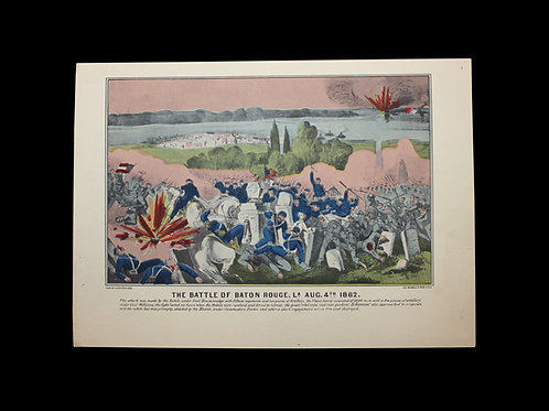 THE BATTLE OF BATON ROGUE - AUGUST 4, 1862