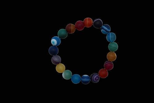 Chakra Agate Bracelets
