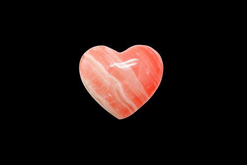 Orange Onyx Heart