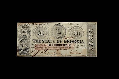 CS Currency - Fifty Dollars - GA