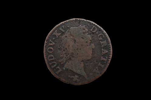 French Louis XV1 Sol Coin 1721-1770