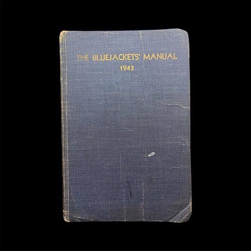1943 WW2 U.S.N Blue Jackets Manual