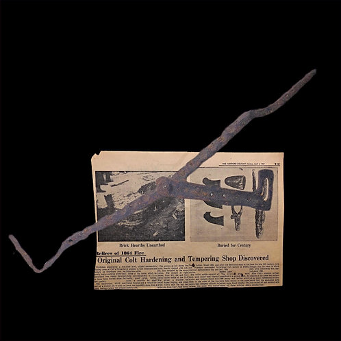 Colt Relic .56 Caliber GANG MOLD – From Colt Factory Excavation