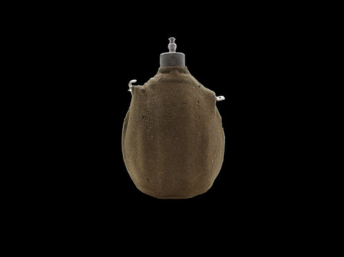 WW2 Iraillian Battle Damaged Canteen