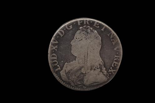 1728 SILVER ECU - LOUIS XV
