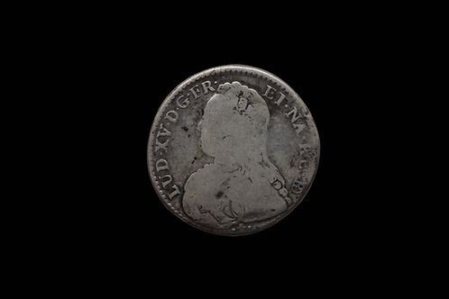 1730 Half ECU - France - Louis XV - PAU-COW