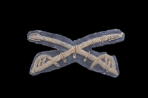 Embroidered Cavalry Crossed Saber