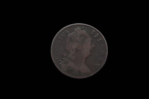 1781 George 3 Halfpence