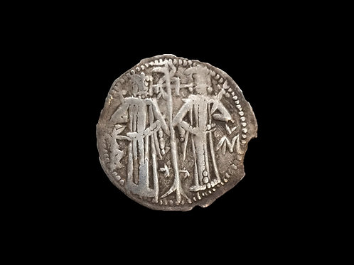 Medieval Coin Portrait of Christ Bulgaria