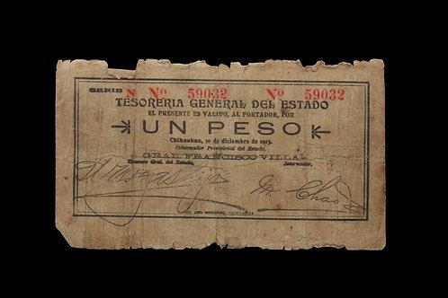 Pancho Villa Era Currency