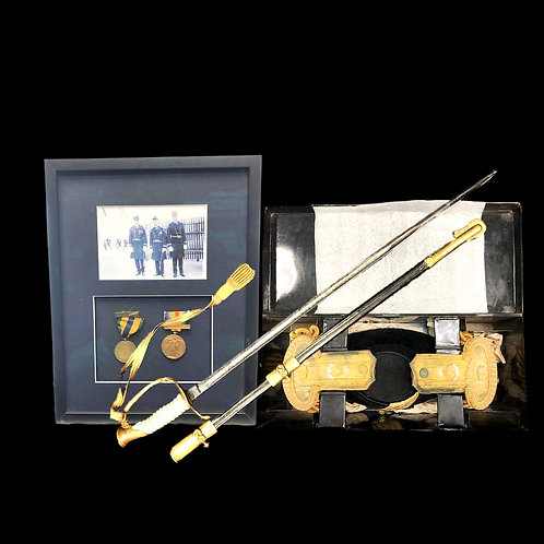 Collection of Personal U.S.N. Soldier Artifacts