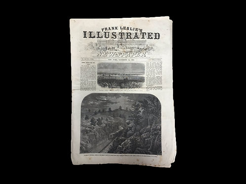 Frank Leslie's Illustrated Newspaper - November 21, 1863