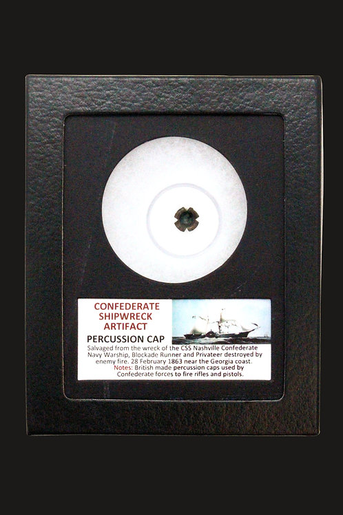 Confederate Shipwreck Percussion Cap
