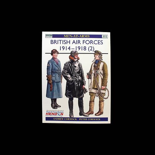 British Air Forces 1914-1918 (2)