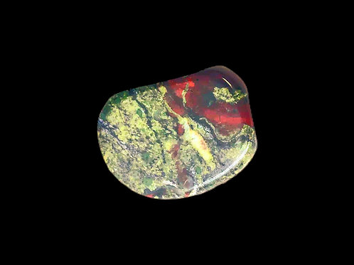 Dragon Bloodstone Palmstone- Small