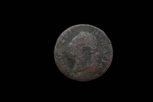 American Revolutionary War Era French 1 Sol Copper Coin